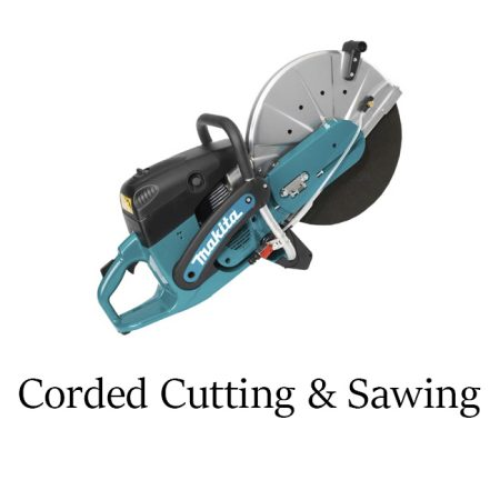 Corded Cutting & Sawing