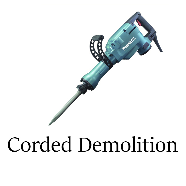 Corded Demolition