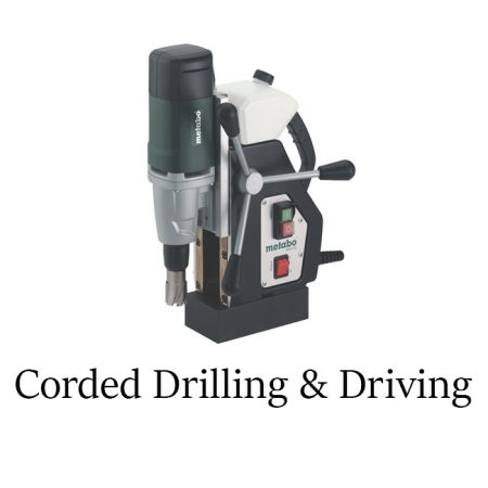 Corded Drilling & Driving