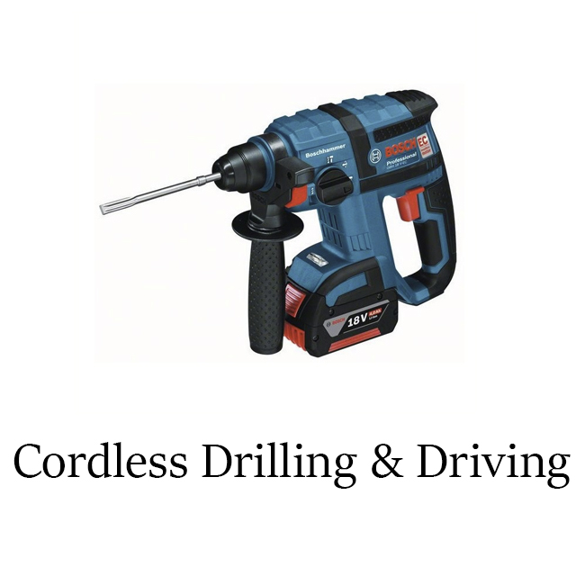 Cordless Drilling & Driving