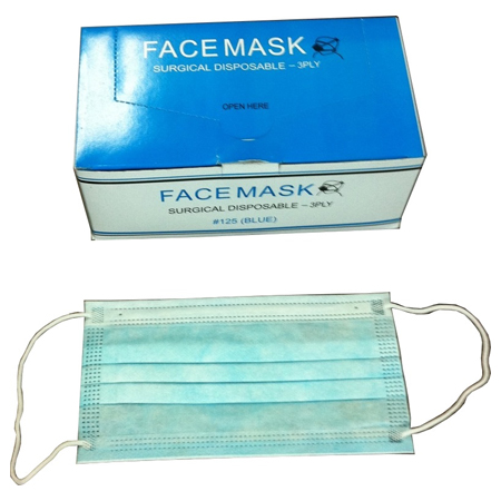 box Ply Mask-50pc 3 Tools Singapore Face Surgical Disposable