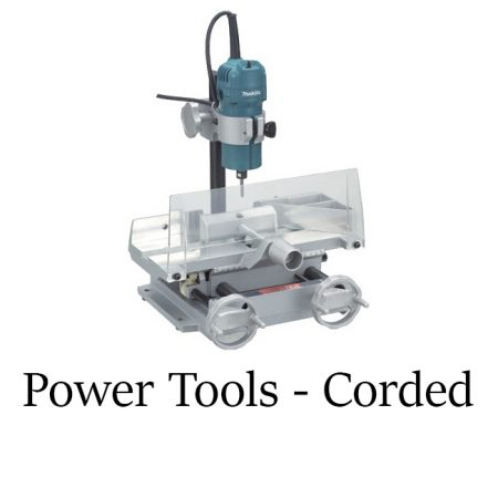 Power Tools - Corded
